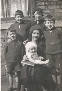 Anne, Joan, Ron, Cyril, Dennis & Katie
